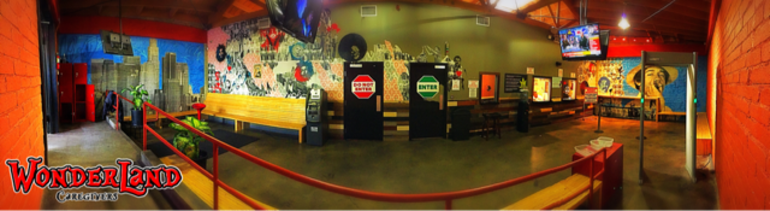 LA Wonderland Marijuana Dispensary Panoramic