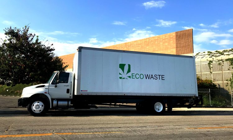 ecowaste truck cannabis cultivation innovations