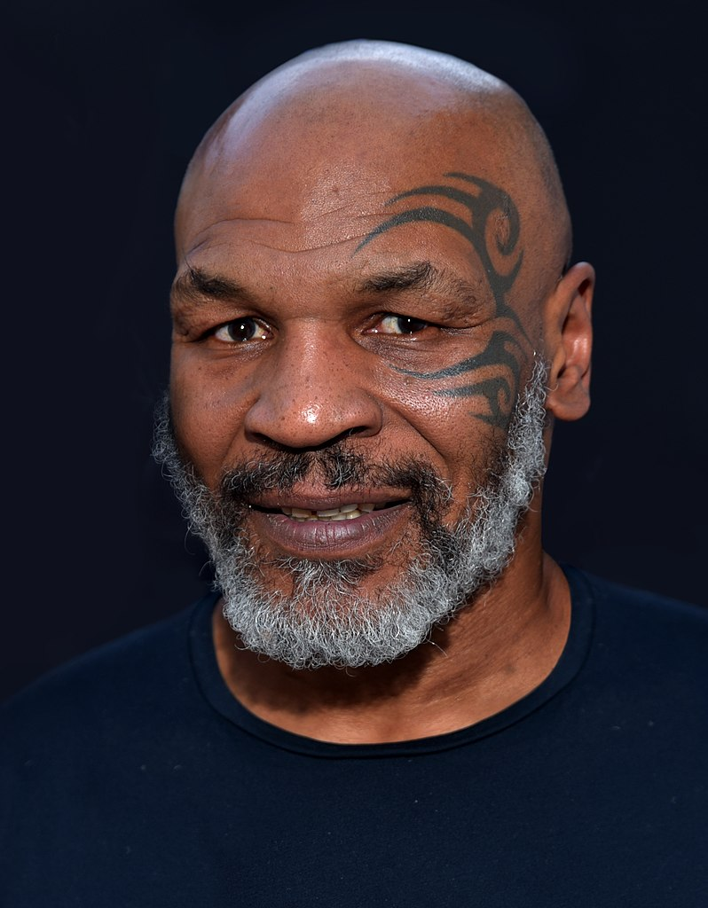 mike tyson printed cannabis beverages
