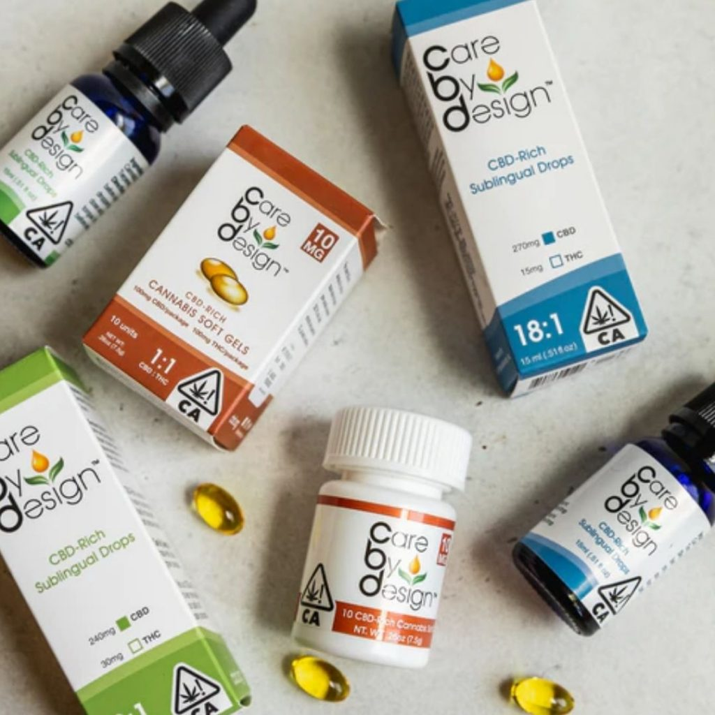cannabis product labels for cbd